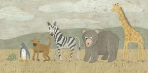 Animals All in a Row II by Megan Meagher