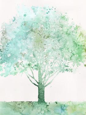 Aquamarine Tree I by Megan Meagher