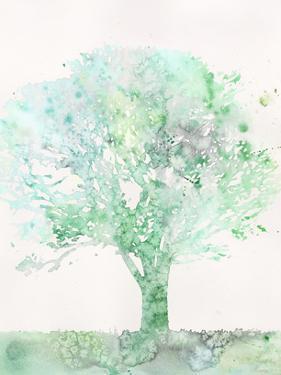 Aquamarine Tree II by Megan Meagher