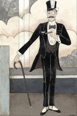 Art Deco Gentleman by Megan Meagher
