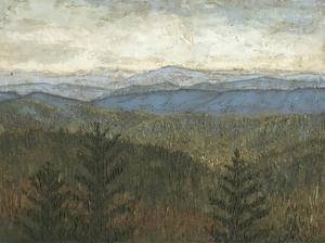 Blue Ridge View I by Megan Meagher
