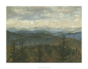 Blue Ridge View II by Megan Meagher