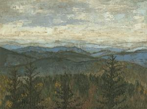 Blue Ridge View II by Megan Meagher