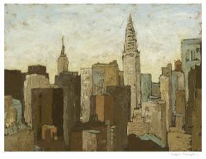 City & Sky II by Megan Meagher