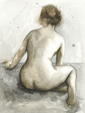 Figure in Watercolor I