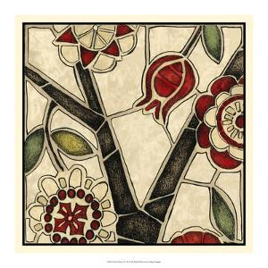 Floral Mosaic I by Megan Meagher