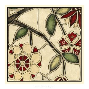 Floral Mosaic IV by Megan Meagher