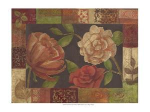 Floral Patchwork II by Megan Meagher