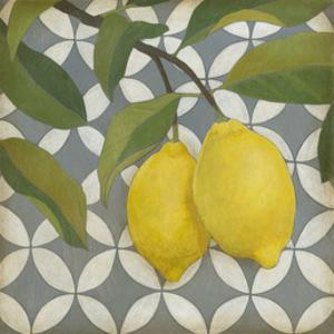 Fruit and Pattern I by Megan Meagher