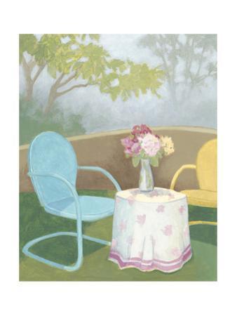 Garden Conversation I by Megan Meagher