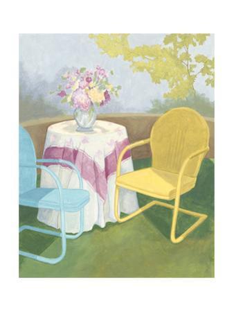 Garden Conversation II by Megan Meagher