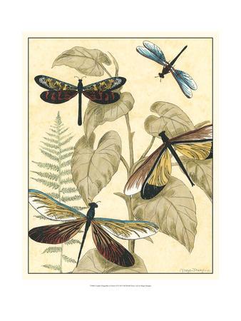Graphic Dragonflies in Nature II