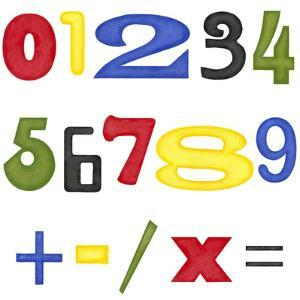 Kid's Room Numbers by Megan Meagher