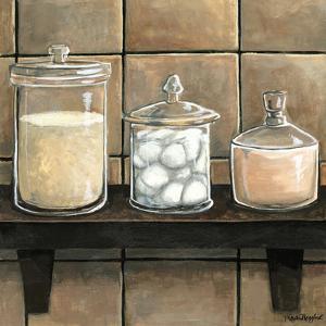 Modern Bath Elements II by Megan Meagher