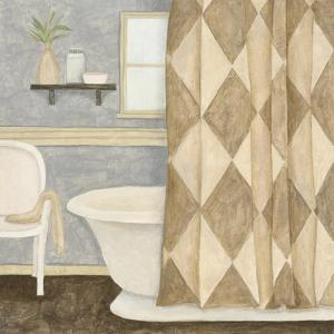 Patterned Bath I by Megan Meagher