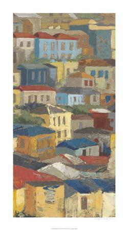 Primary Rooftops II by Megan Meagher