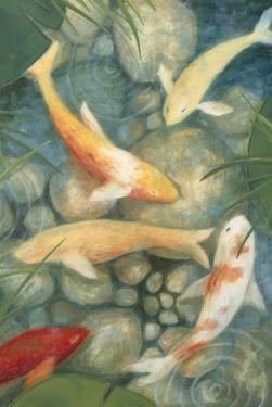 Reflecting Koi II by Megan Meagher
