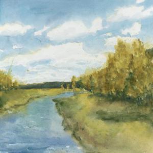 River Sketch I by Megan Meagher