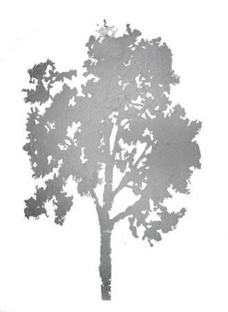 Silver Foil Tree II by Megan Meagher