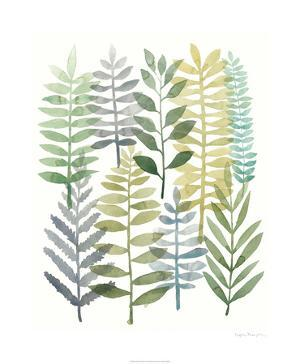 Watercolor Botany I by Megan Meagher