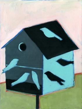 Birdhouse for Swallows by Megan Moore