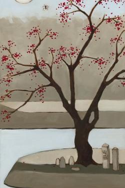 Cherry Tree, Winter, 2013 by Megan Moore