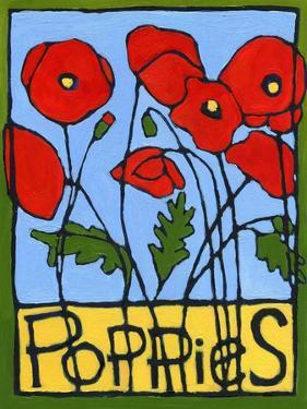 Poppies, 2004 by Megan Moore