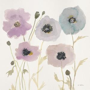 Pastel Garden I by Megan Swartz
