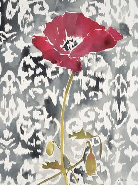 Red Poppy Motif 1 by Megan Swartz