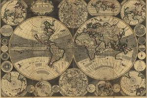 High-Quality Antique Map by megastocker