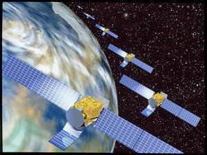 Communication Satellites by Mehau Kulyk