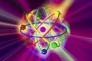 Computer Artwork of a Beryllium Atom by Mehau Kulyk
