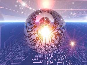 Electronic World, Artwork by Mehau Kulyk