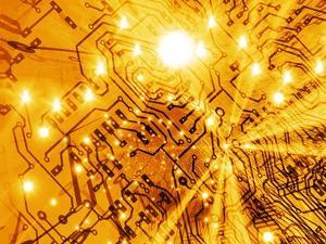 printed Circuit Board, Artwork by Mehau Kulyk