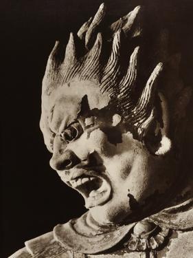Meikira Taisho, a Painted Clay Demon from the Late Nara Period, Shinjakushiji, Japan, 1950