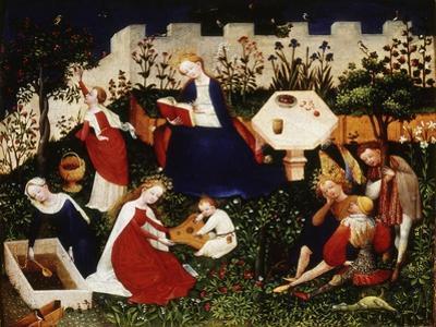 Paradise Garden, c. 1410 by Meister Oberrrheinischer
