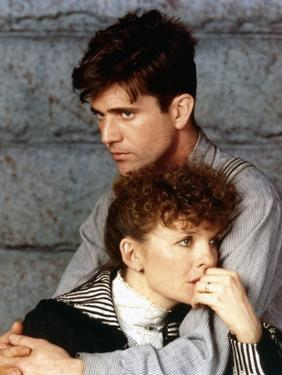 Mel Gibson and Diane Keaton MRS. SOFFEL, 1984 directed by GILLIAN ARMSTRONG (photo)