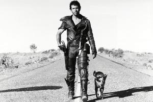 "MEL GIBSON. ""THE MAD MAX II: ROAD WARRIOR"" [1981], directed by GEORGE MILLER."