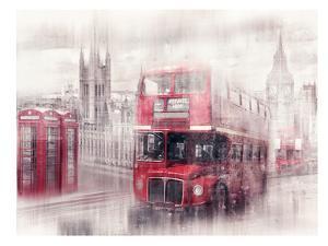 City-Art London Westminster Collage by Melanie Viola
