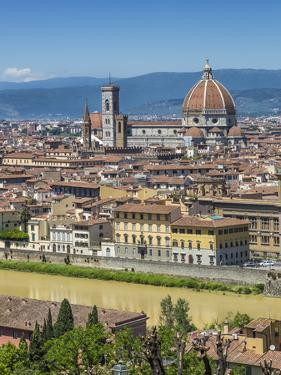 Florence Cathedral And Old Town by Melanie Viola