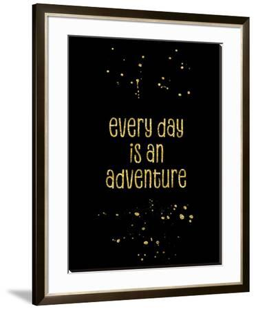 Gold Every Day Is An Adventure by Melanie Viola