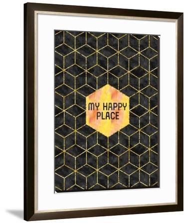 Gold My Happy Place by Melanie Viola