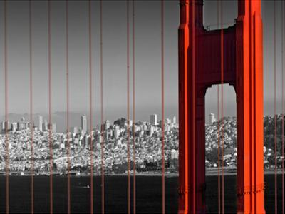 Golden Gate Bridge Panoramic View