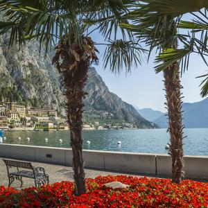 Lake Garda Gorgeous Riverside In Limone Sul Garda by Melanie Viola