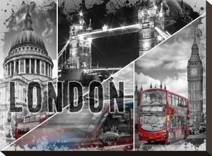 London Urban Collage No 1 by Melanie Viola