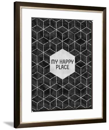 Silver My Happy Place by Melanie Viola
