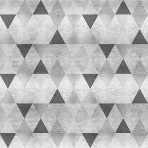 Sparkling Triangles Silver by Melanie Viola