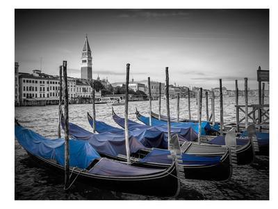 Venice Grand Canal & St Mark's Campanile II