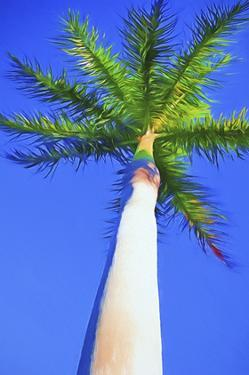 Blue Sky Palm I by Melinda Bradshaw