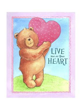 Bear Live with Heart by Melinda Hipsher